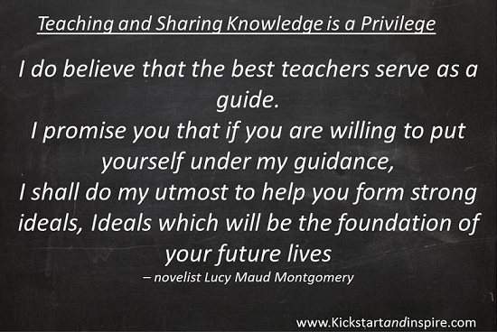 Teaching Builds Strong Foundations for Future Lives