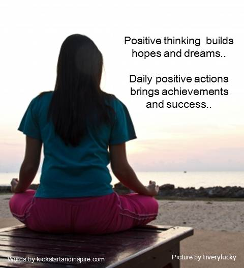 Positive Thinking Makes A Whole Lot of Difference