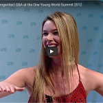 Watch to this inspiring Music Q&A with Joss Stone