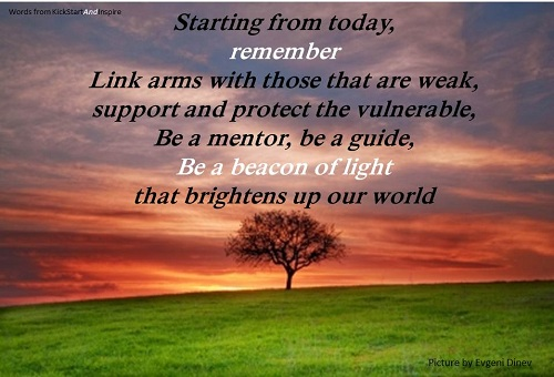 Today Be A Beacon of Light
